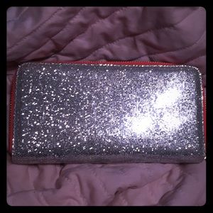 Sparkle zip wallet